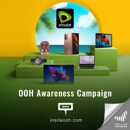 Dubai Summer Surprises: Etisalat Offers Up to 65% Discount on Devices & Accessories on Dubai Billboards