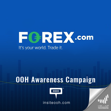 Forex.com Takes Over Dubai's OOH Site to Cater Traders with Exceptional Service