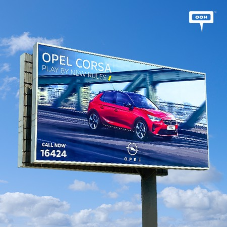 Opel Starts New Corsa Campaign on Cairo's OOH Landscape