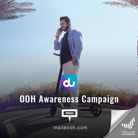 The All-New Power Plan from DU Entices Audiences on Dubai's Billboards with Whopping Promotions