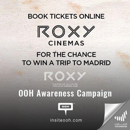 ROXY Cinemas Dubai Offer a Chance to Win a Trip to Madrid by Booking Tickets Online