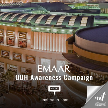 Emaar Malls Rises on Dubai's Billboards Offering Enjoyment for Family and Friends under One Roof