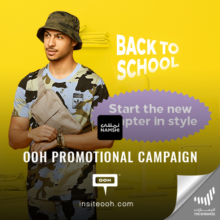 Namshi Rises on Dubai's Billboards with a Back to School Sale from 30-70% off
