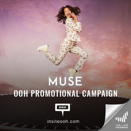 MUSE Promotes +10% off To Exclusive Muse Members from August 19-21 on Dubai's Billboards