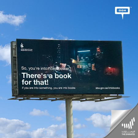 """Sharjah Book Authority Launches """"You're Into Books"""" Cultural Campaign on Dubai's OOH Scene"""