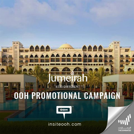 JUMEIRAH ZABEEL SARAY Promises The Ultimate Staycation on Dubai's Billboards with Up To 40% Discount