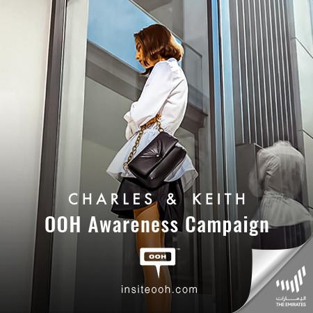 Elegance and Grace Envelope Dubai's OOH Landscape As Charles & Keith Land with Their Latest Campaign