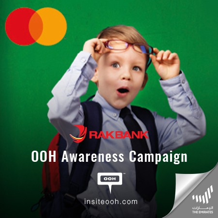 RAKBANK Promises Audiences to Get Back School with A Free Staycation on Dubai's OOH Campaign