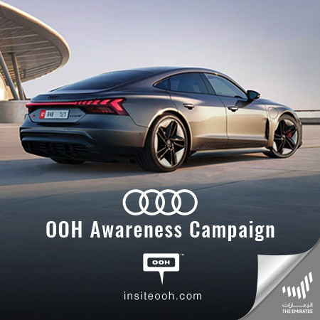 Audi Releases the Fully-Electric Car of the Future Across Suave Dubai Billboards