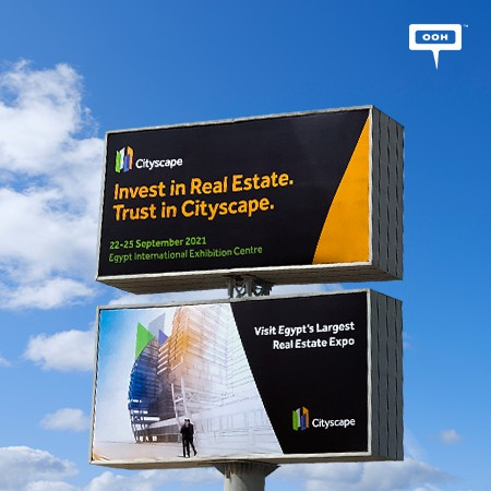Cityscape Global Goes Hybrid Announcing Egypt's Largest Real Estate Expo on Cairo's OOH Scene