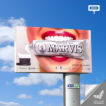 Marvis Takes a Bite Out of Dubai's OOH Scene with A Stunning Campaign