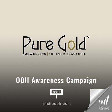 Pure Gold Jewellers Promise Women to Be Forever Beautiful on UAE's Billboards