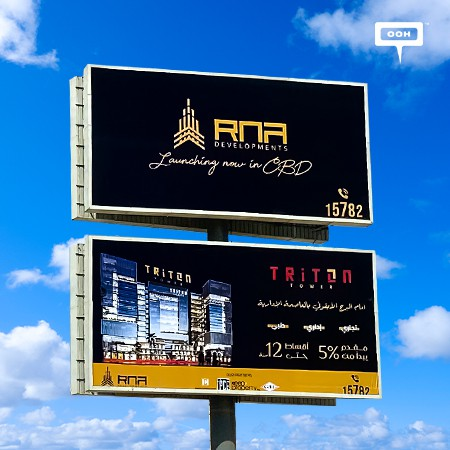 RNA Developments Strikes on Cairo's Billboards with TRITON Tower!