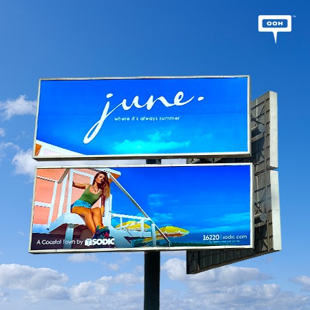 SODIC Developments Nails Greater Cairo's Billboards with its Gated Coastal Town, June North Coast!
