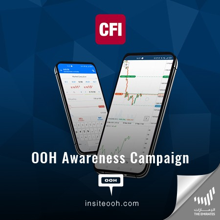 CFI Hits Dubai's Billboards to Announce Its Convenient Online Trading