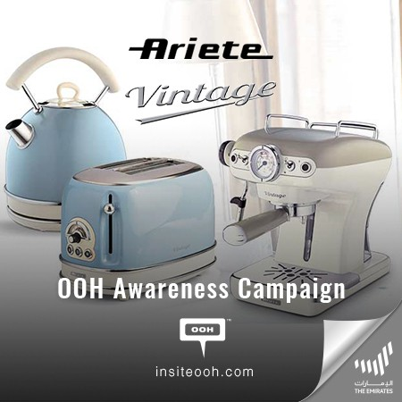 Ariete Makes its First Appearance on Dubai's Billboards, Presenting Dazzling Kitchen Appliances Lines