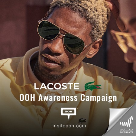 Lacoste Rises on Dubai's Digital Outdoor Marketing Scene with A New Campaign